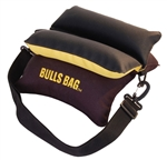"Bulls Bag 10"" Field Shooting Rest Black and Gold with Tuff Tec top"