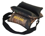 "Bulls Bag 10"" Field Shooting Rest Tree Camo with Tuff Tec Top"