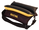 "Bulls Bag 15"" Bench Shooting Rest Black and Gold with Tuff Tec Top"