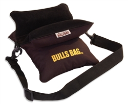 "Bulls Bag 9"" Field Shooting Rest Black with Suede Top"