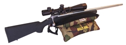 "#91505-Bench Camo/Suede 15"" Shooting Rest (Filled)"