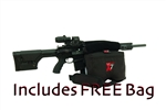 #90007-X7BLK + FREE BAG Shooting Rest Complete  SYSTEM (7 Bag Set) (Filled)