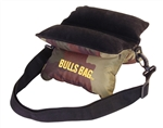 "Bulls Bag 9"" Field Shooting rest Camo pattern with Suede top"